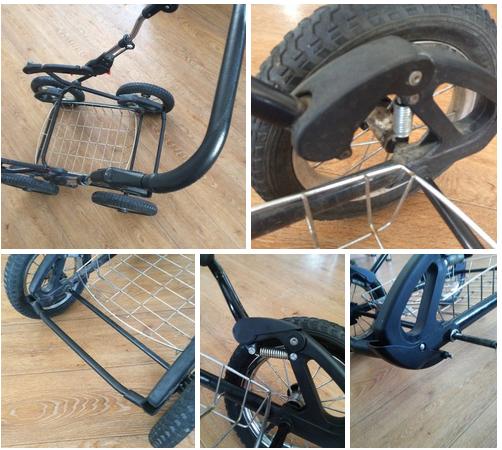 замена колеса коляски