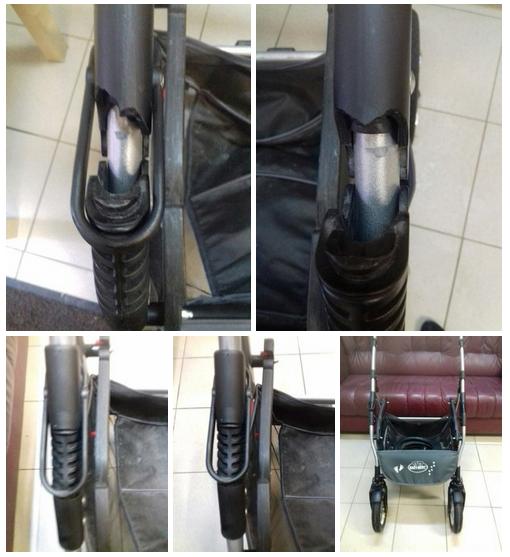 ремонт ручки детской коляски