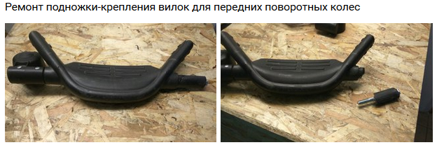 ремонт детской коляски Lonex