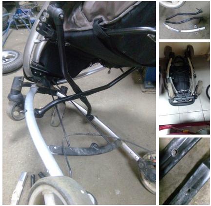 сварка рамы коляски