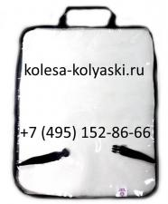 Защитная накидка на спинку переднего сидения автомобиля, (60х45 см)