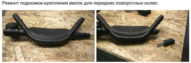 ремонт детской коляски Zekiwa