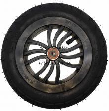 Колесо надувное 10 дюймов без вилки 47-152 10х1,75х2 (на ось 8 мм) тип 13